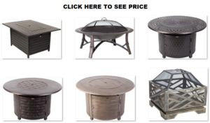 Fire Sense fire pit table