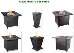 endless summer propane gas firepit table